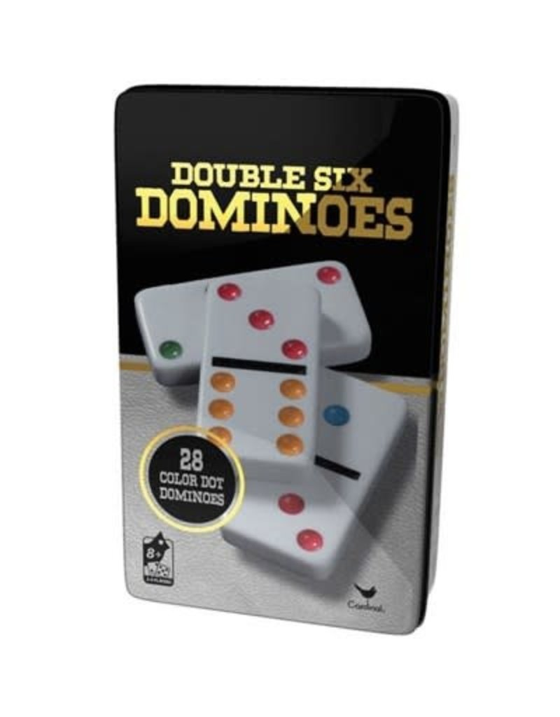 Spin Master Double 6 Color Domino