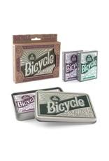 Bicycle Retro Tin Set