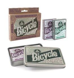 Bicycle Bicycle Retro Tin Set