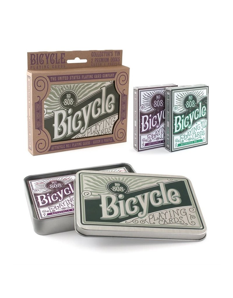 Bicycle Bicycle Retro Tin Set