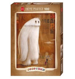 Heye Puzzle - 500mcx, Sit!, Zozoville