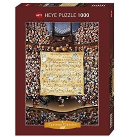 Heye Puzzle 1000mcx, Score, Loup