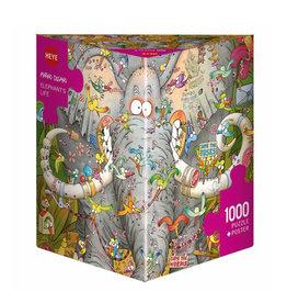 Heye Puzzle 1000mcx, Elephant's Life, Degano