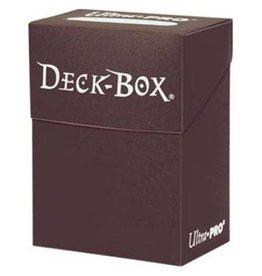 Ultra PRO Deck Box - Brown Deck Box