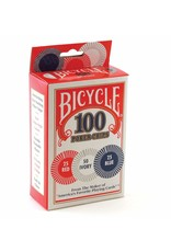 Bicycle Bicycle - Plastic Poker Chips 100 pack