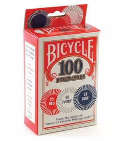 Bicycle - Plastic Poker Chips 100 pack