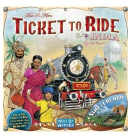 Days of Wonder TICKET TO RIDE : MAP #2 - INDIA (MULTI)