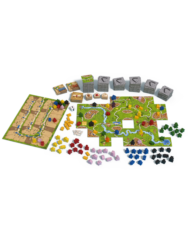 Z-man games Carcassonne Big Box 2017 (EN)