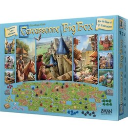 Z-man games Carcassonne - Big Box 2017 (FR)