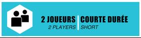 2 Players - Short