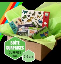 Boîte à surprises 3-5 ans