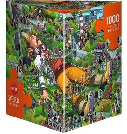 Heye Puzzle 1000mcx, Gulliver, Oesterle