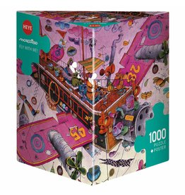 Heye Puzzle 1000mcx, Fly with me!, Mordillo