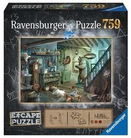 Ravensburger Escape Puzzle 759mcx Dans la cave de l'effroi PRECOMMANDE