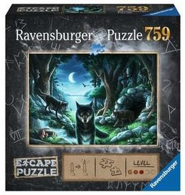 Ravensburger Escape Puzzle 759mcx La meute de loups PRECOMMANDE