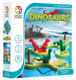 Smart Games jeux board games Dinosaurs Mystic Islands (FR/EN)