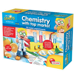 I'm a genius Laboratory of Chemistry with top marks! (EN)