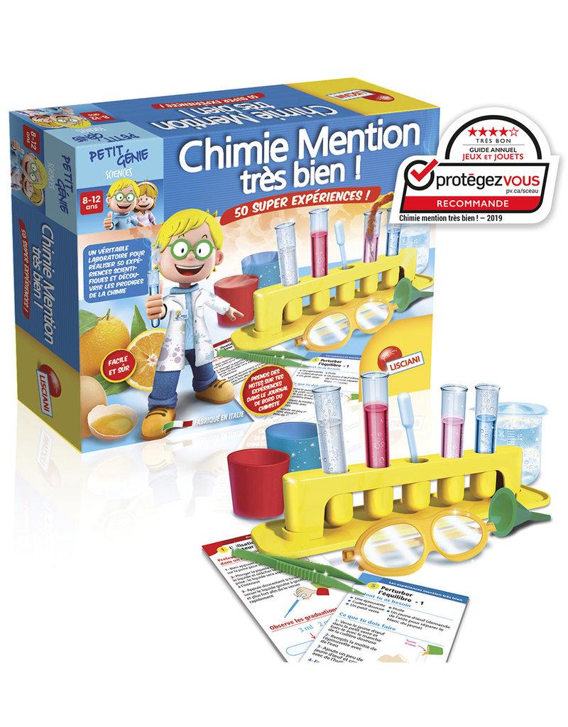 I'm a genius Chimie Mention très bien! (FR)