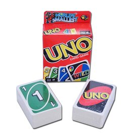 Mattel World's Smallest - Uno (FR/EN)