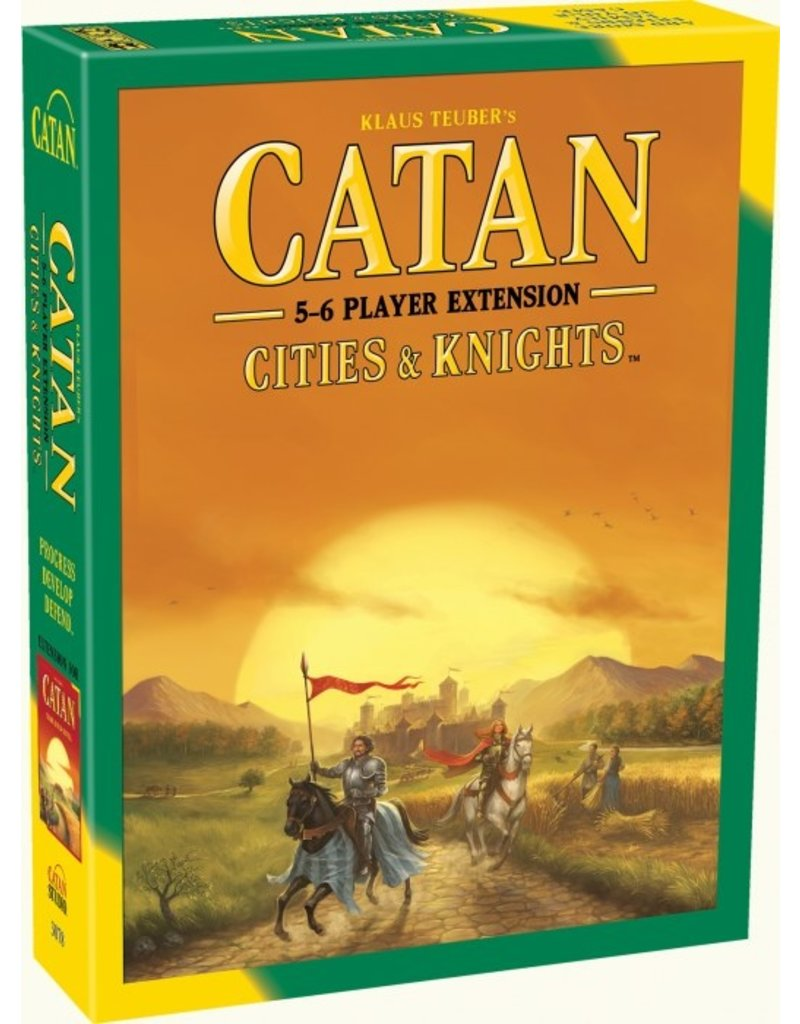 Catan studio Catan: Cities & Knights 5-6 players (EN)