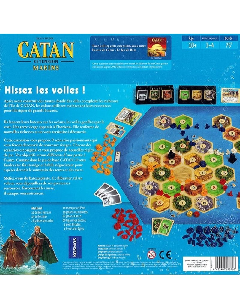 Kosmos Catan - Marins