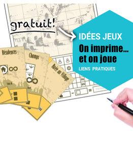 Idées jeux - On imprime et on joue!