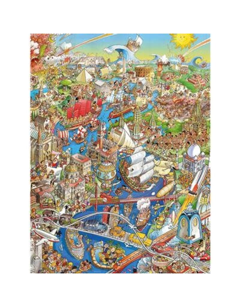 Heye Puzzle, 2000mcx Depp Jungle, Ryba