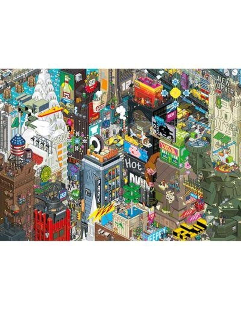 Heye Puzzle 1000mcx, New York Quest, Eboy