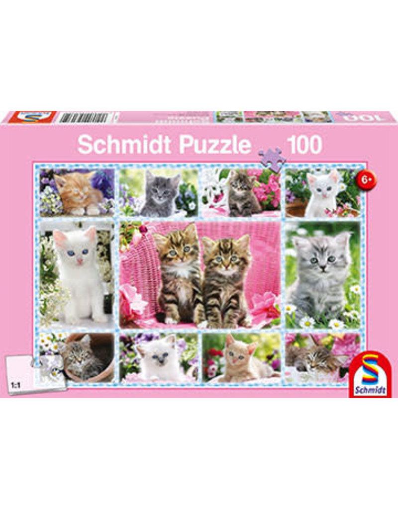 Schmidt-Spiele Puzzle 100mcx Child Kittens