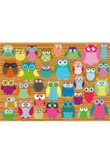 Schmidt-Spiele Puzzle 500mcx, Owls Collage Hiboux