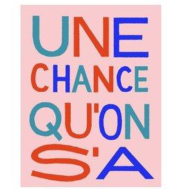 Vincent Toutou Carte de souhait - VT - Une chance qu'on s'a