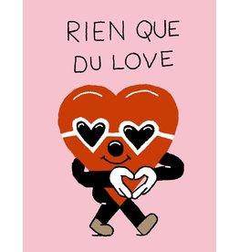 Vincent Toutou Carte de souhait - VT - Rien que du love