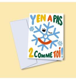 Vincent Toutou Carte de souhait - VT - Y'en a pas 2 comme toi