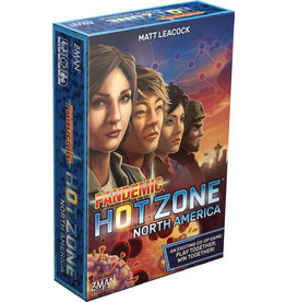 Z-man games Pandemic: Hot Zone (EN) PRECOMMANDE