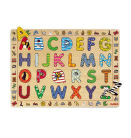 Djeco Puzzle bois / ABC / 26 pcs (FR)