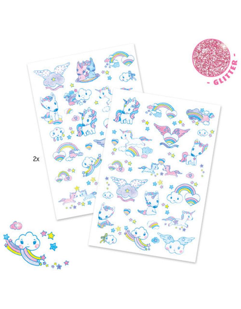 Djeco Tatouages / Licornes (FR/EN)