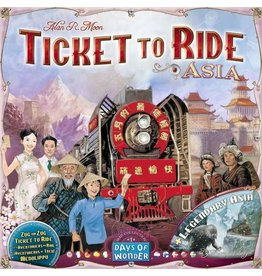 Days of Wonder Ticket to Ride: Map #1 Asia (FR/EN)