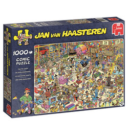 Jumbo Puzzle 1000mcx, Toy Shop, Jan Van Haasteren