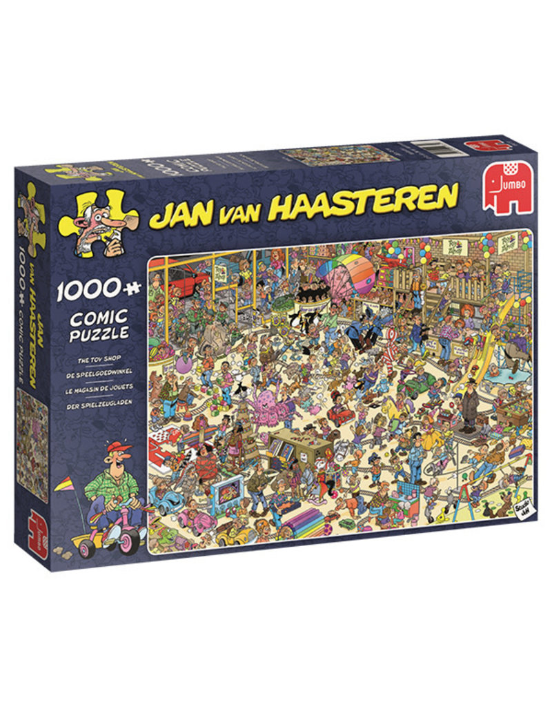 Jumbo Puzzle 1000mcx, Toy Shop, Jan Van Haasteren