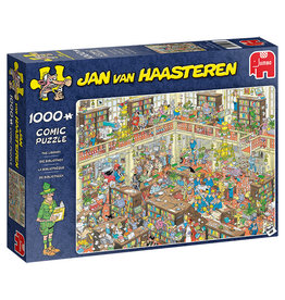 Jumbo Puzzle 1000mcx, The Library, Jan Van Haasteren