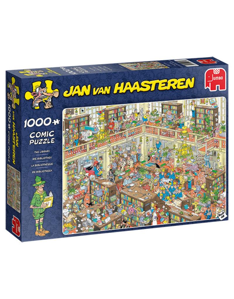 Jumbo Puzzle 1000mcx, The Library, Jan Van Haasteren