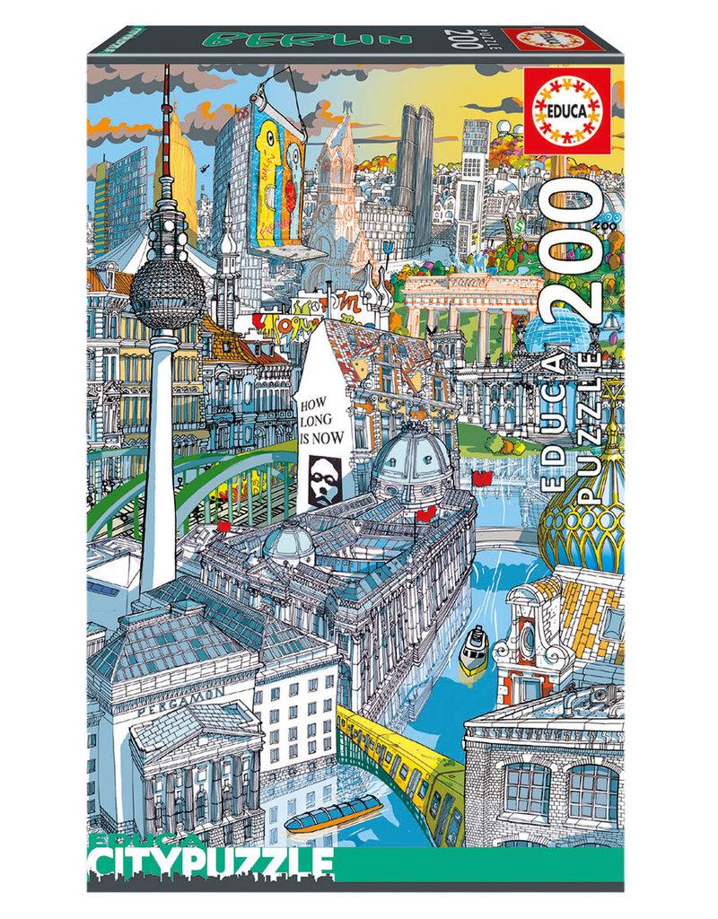Educa Puzzle 200mcx, Berlin, City Puzzle