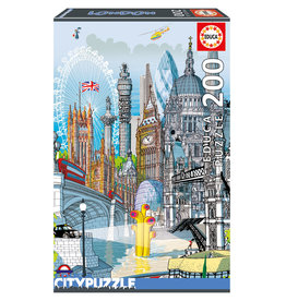 Educa Puzzle 200mcx, Londres, City Puzzle