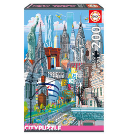 Educa Puzzle 200mcx, New York, City Puzzle