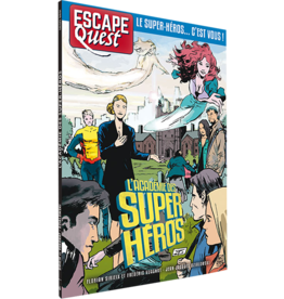 Don't Panic games Escape Quest 6: L'Académie des Super Héros