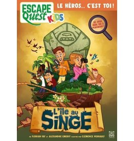 Don't Panic games Escape Quest Kids 1: l'ile au singe