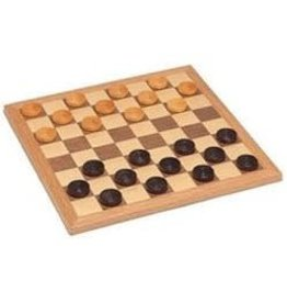 Wood Expressions Dames -CHECKER SET BOARD