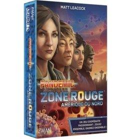 Z-man games Pandemic zone rouge - amérique du nord (FR)