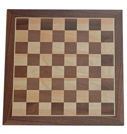 Wood Expressions Planche Échec - Chessboard 18'' Camphor Burl