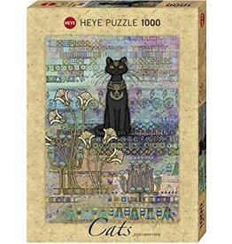 Heye Puzzle 1000mcx, Cats Egyptians, Jane Crowther